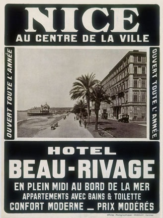 Robaudy - Hotel Beau Rivage, Nice