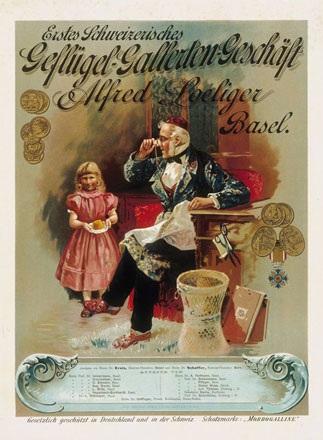 Anonym - Erstes Schweizerisches Geflügel-Gallerten-Geschäft