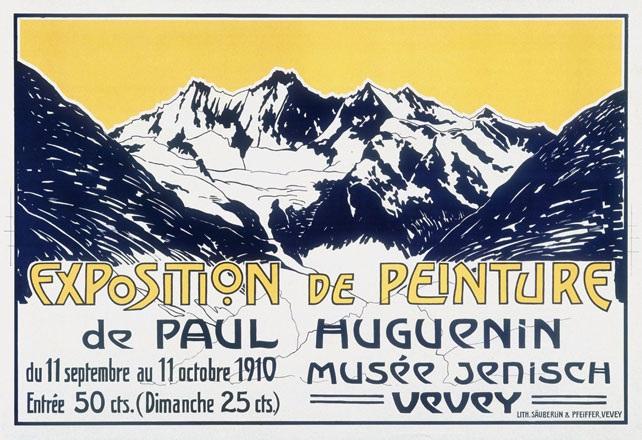 Huguenin Paul - Exposition de Peinture de