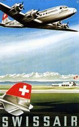 Reber Bernhard - Swissair