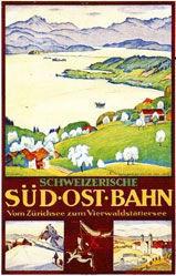 Schlatter Ernst Emil - Süd-Ost-Bahn