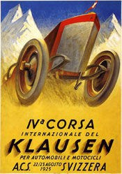 Bickel Karl - IVa Corsa internationale