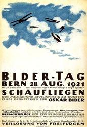 Cardinaux Emil - Oskar Bider-Tag Bern