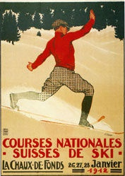 Courvoisier Jules - Courses nationales Suisses de Ski -