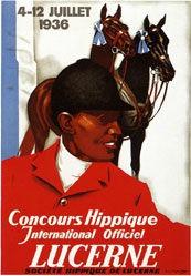Hugentobler Iwan E. - Concours Hippique Luzern
