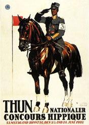 Hugentobler Iwan E. - Concours Hippique Thun
