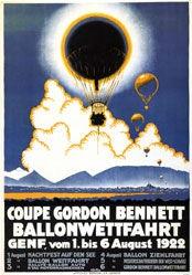 Loutan Henri - Coupe Gordon Benett -Ballonwettfahrt