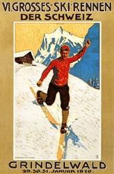 Burger Wilhelm Friedrich - VI. Grosses Skirennen der Schweiz