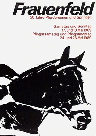 Anonym - Pferderennen Frauenfeld