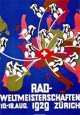 Bachmann Paul - Radweltmeisterschaften Zürich