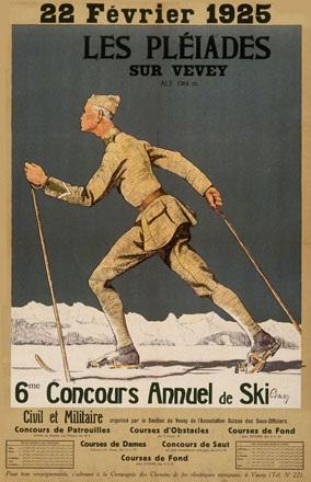 Baer - Concours de Ski Les Pléïades