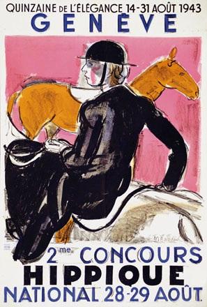 Barraud Maurice - Concours Hippique Genève