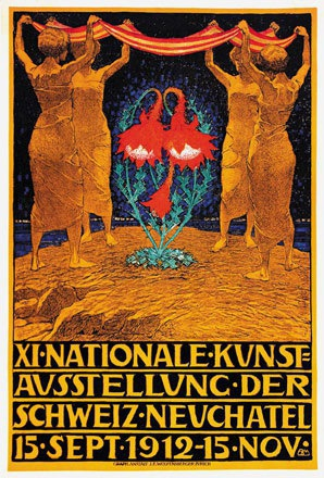Mangold Burkhard - Nationale Kunstausstellung