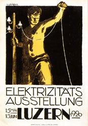 Zürcher Hans - Elektrizitäts-Ausstellung
