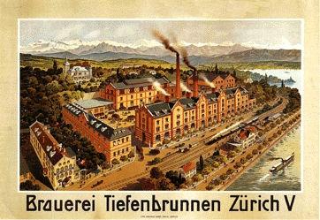 Anonym - Brauerei Tiefenbrunnen Zürich V