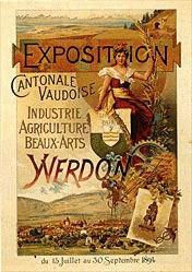 Proetel Albert - Exposition Industrie Agriculture Beaux-Arts