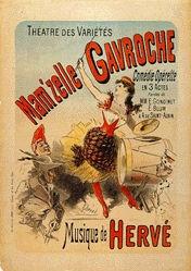 Chéret Jules - Mam'zelle Gavrouche