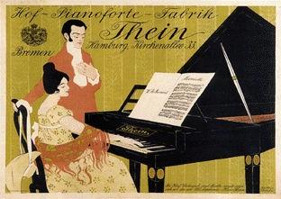 Ehmcke Fritz Hellmut - Hof-Pianoforte-Fabrik Thein