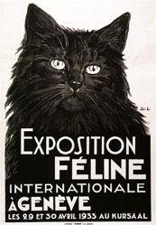 Elzingre Edouard - Exposition Féline Internationale à Genève