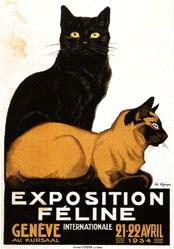 Elzingre Edouard - Exposition Féline Internationale Genève