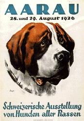 Ernst Otto - Schweizerische Ausstellung von Hunden aller Rassen