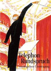Gilsi René - Telephon-Rundspruch