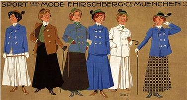Hohlwein Ludwig - Sport und Mode F. Hirschberg & Cie.
