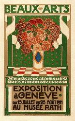 Hugonnet Aloys - Exposition Genève