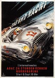 van Husen Ernst Friedrich - ADAC - 24 Stunden-Rennen