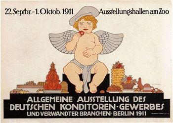 Klinger Julius - Ausstellung des deutschen Konditoren-Gewerbes