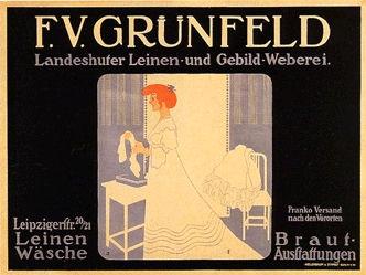 Klinger Julius - F.V. Grünfeld