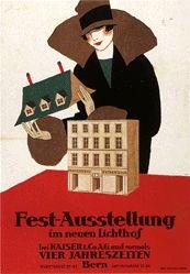 Laubi Hugo - Fest-Ausstellung im neuen Lichthof Bern