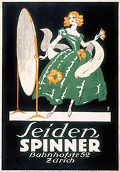 Monogramm F. - Seiden Spinner