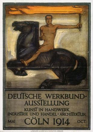 Behrens Peter - Deutsche Werkbund Ausstellung Cöln