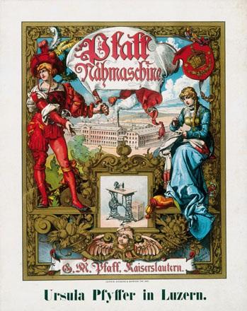 Doepler Emil D.J. - Pfaff Nähmaschine