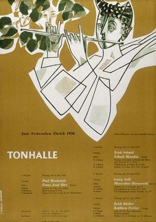 Müller-Brockmann Josef - Musikfestwochen Tonhalle