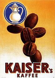 Monogramm V. - Kaiser's Kaffee