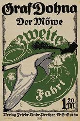 Monogramm K.J. - Der Möwe zweite Fahrt