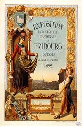 Anonym - Exposition industrielle cantonale à Fribourg