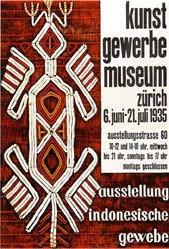 Baumberger Otto - Ausstellung indonesische Gewebe