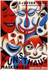 Baumberger Otto - Kunsthaus Maskenfest