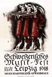 Baumberger Otto - Schweizerisches Musik-Fest Leipzig