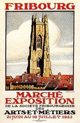 Berchier J. - Marché Exposition Fribourg