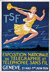 Courvoisier Jules - Exposition Nationale de Télégraphie