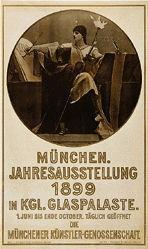 Gysis Nikolaus - München. Jahresausstellung