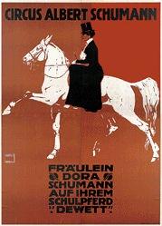 Hohlwein Ludwig - Circus Albert Schumann
