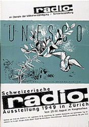 Honegger-Lavater Gottfried - Radio-Ausstellung Zürich