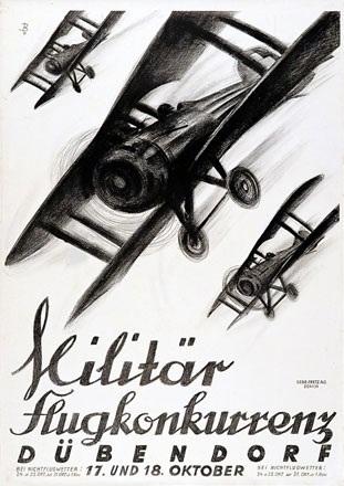 Baumberger Otto - Militär-Flugkonkurrenz