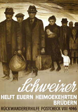 Baumberger Otto - Svizzeri aiutate i vostri fratelli rimpatriati!