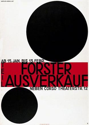 Baumberger Otto - Forster Ausverkauf